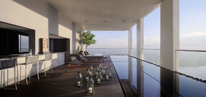 Penthouse de luxe à Bangkok en Thailande - Visit the website to see all pictures http://www.amenagementdesign.com/architecture/penthouse-de-luxe-bangkok-en-thailande/