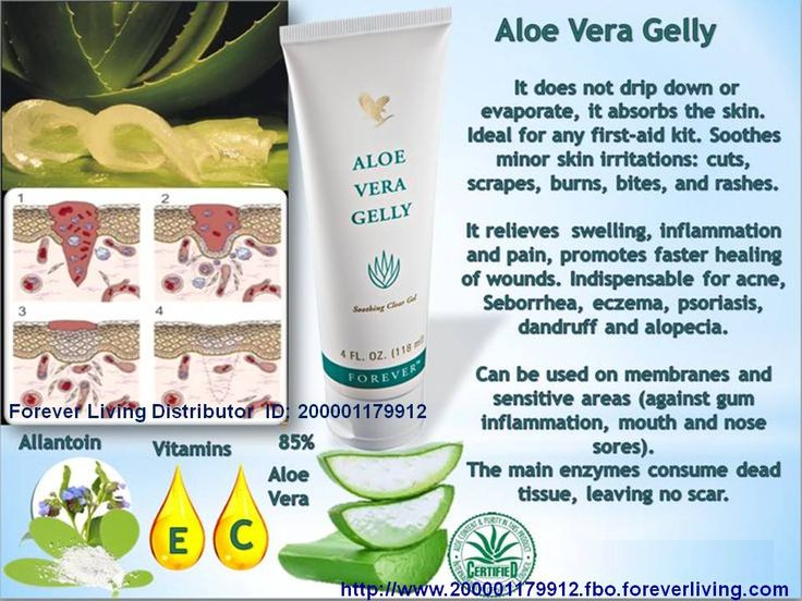 Aloe Vera Gelly Essentially identical to the aloe vera's inner leaf, our 100% stabilized aloe vera gel lubricates sensitive tissue safely. Specially prepared for topical application to moisturize, soothe and condition.  Aloe Vera Gelly is a thick, translucent gel containing humectants and moisturizers. Readily absorbed by the skin, it soothes without staining clothes. Aloe Vera Gelly also provides temporary relief from minor skin irritations.