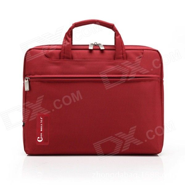 "COOLBELL High Quality Protective Nylon Waterproof Bag for 14"" Laptop Notebook - Red Price: $22.64"