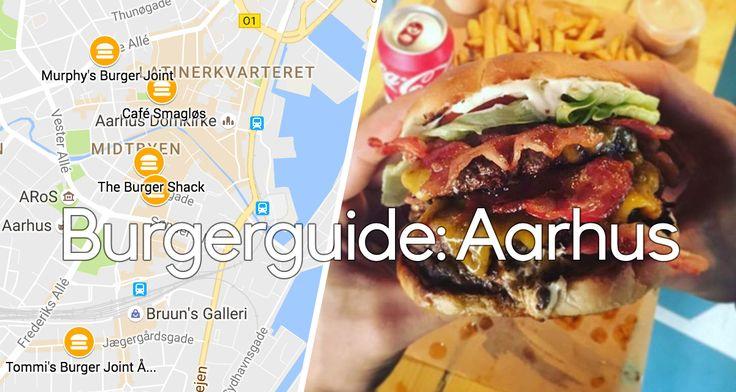 Når bøffen boller med osten: Her spiser du den bedste burger i Aarhus