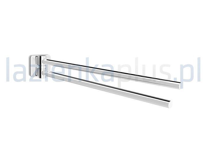 - mocowanie: punktowe- dwa ramiona- wymiary: 30 x 317 x 50 mm- kolor: chrom- niezbędny element wyposażenia każdej łazienki - wyposażenie łazienki - ...