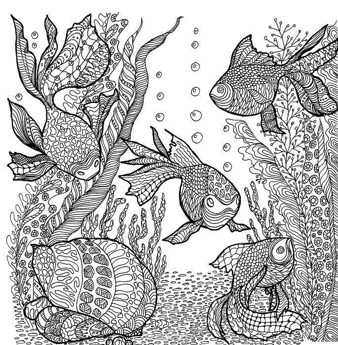 481 besten Coloring: Under The Sea Bilder auf Pinterest | Therapie ...