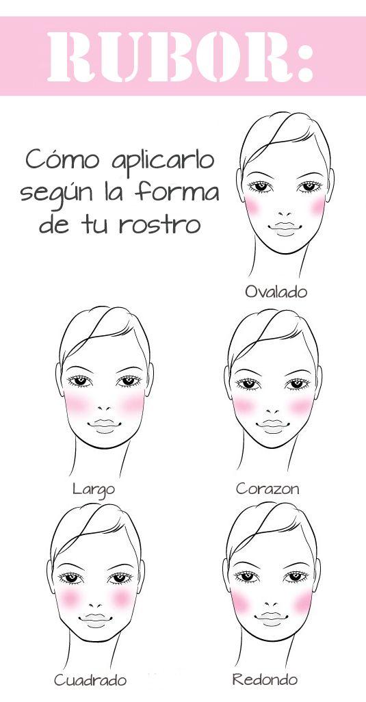 Rubor en tu rostro #beauty #tips