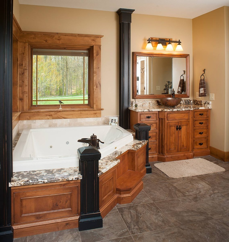 17 images about baths laundry on pinterest vanities for Custom master bath