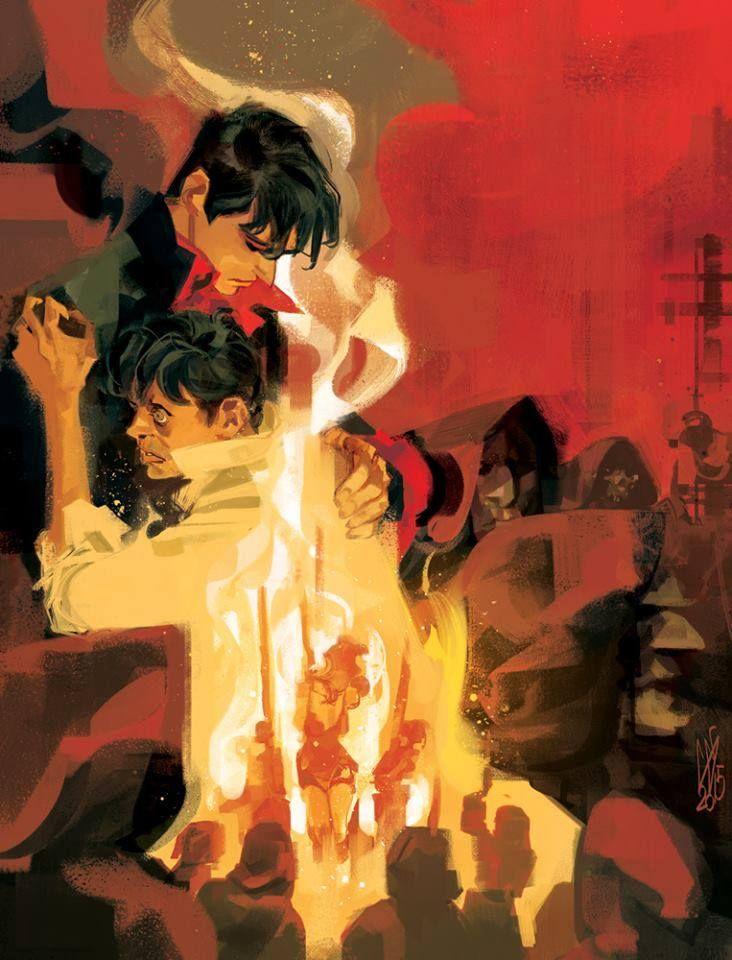 La cover definitiva di Cavenago per Caccia alle streghe (BAO publishing) #DylanDog