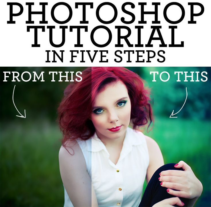 A five step guide to make your photos prettier! <3 Photoshop Tutorial!