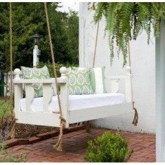 Pawleys Island South Island Porch Swing Bed