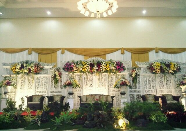 Javanese Wedding Decoration , tradition of Indonesiaaaaan . #culture