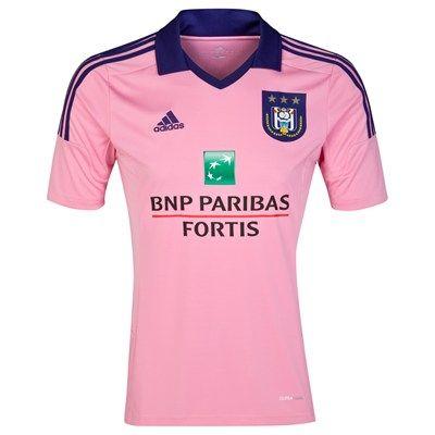 Anderlecht 2014/2015 Away Shirt (Pink). Available from Kitbag.com