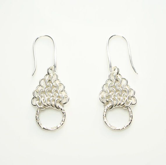 Sterling Silver European 4in1 Chainmaille by FionaKDesigns on Etsy, £37.00
