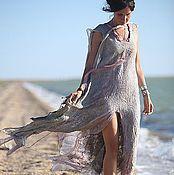 """Одежда ручной работы. Ярмарка Мастеров - ручная работа авторское платье """"услышать песню ветра"""". Handmade."""