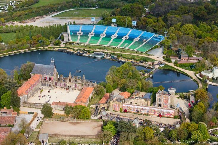 ✈️ Photo aérienne de : Parc du Puy du Fou - Vendée (85)