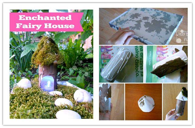 DIY Fairy House Tutorial 1