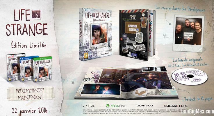 [préco] Life is Strange – édition limitée (PS4)