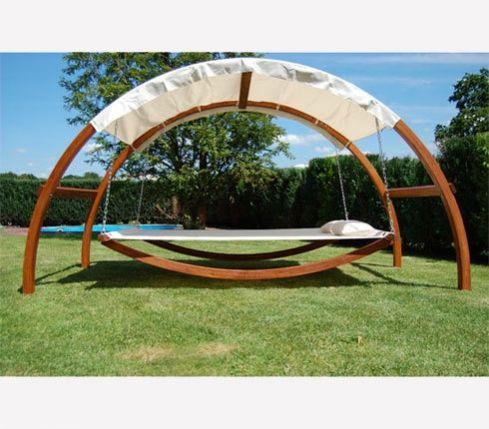 Swing Bed Hängematte mit Dach by Benedomi