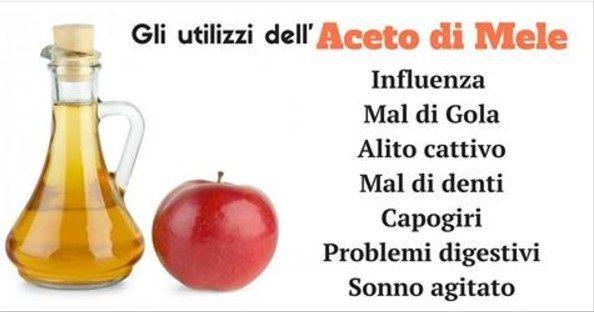 L' aceto di mele, prodotto dal sidro o dal mosto di mela, è ricco di proprietà benefiche ed è ottimo per il nostro organismo.