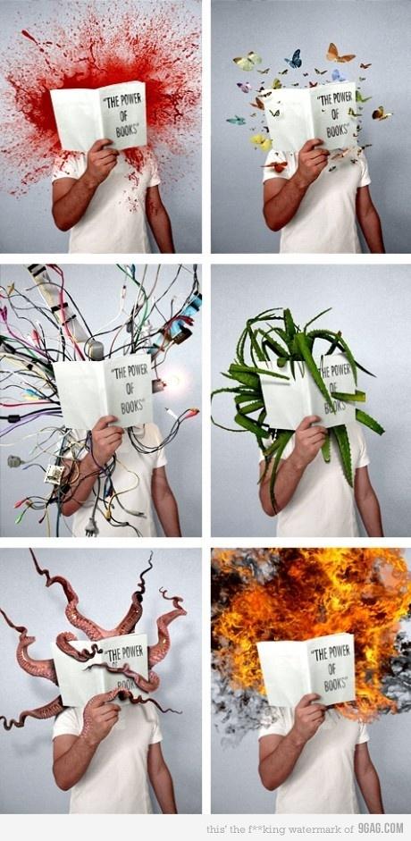 the power of booksLibraries, Mladen Penev, Ideas, Book Stuff, Book As. Good As, Reading Book, Art, Graphics Design, Power