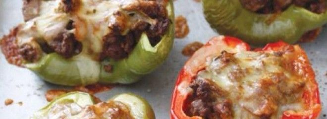 stuffed peppers #21dayfix #paleo