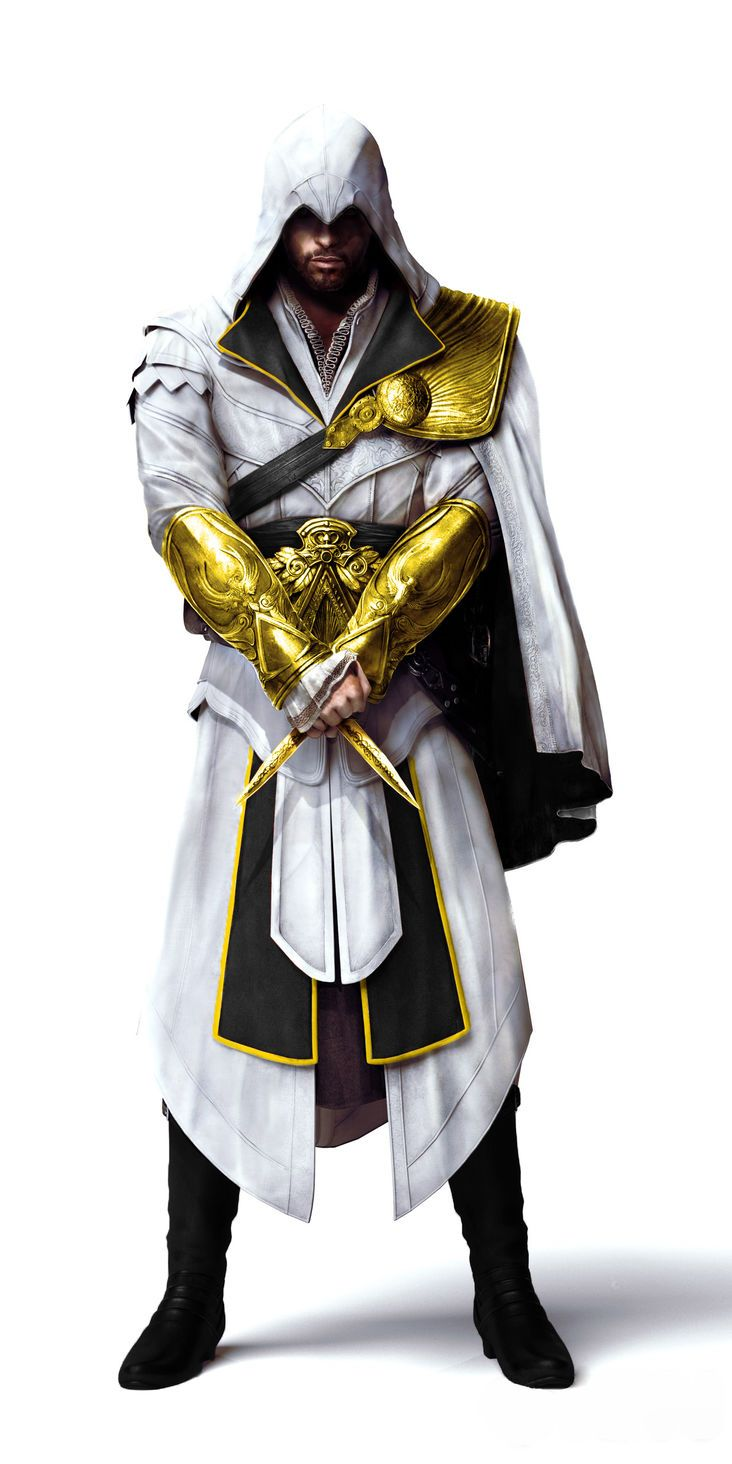 Assassin's Creed Brotherhood Ezio's Outfit Black and Gold.jpg