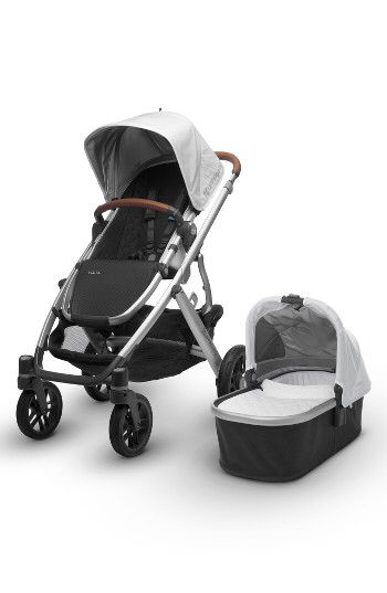 UPPAbaby UPPAbaby 2017 VISTA Aluminum Frame Convertible Stroller with Bassinet & Toddler Seat available at #Nordstrom