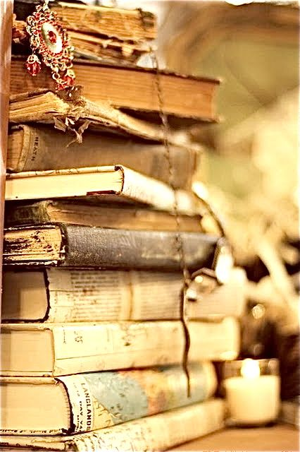 Love this! <3 old books.
