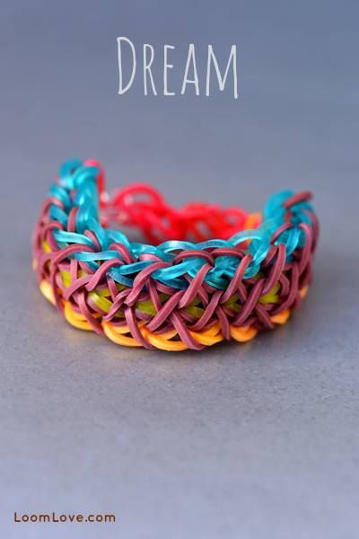 rubber band loom patterns instructions