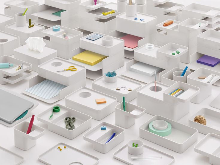 Modern Modular Desk Accessories to Organize with Style