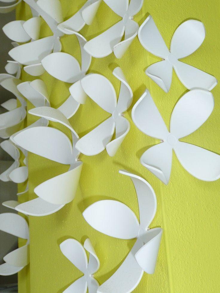 un muro di fiori