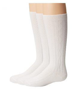 Jefferies Socks Seamless Classic Style Six Pack (Toddler/Little Kid/Big Kid/Adult) (White) Girls Shoes