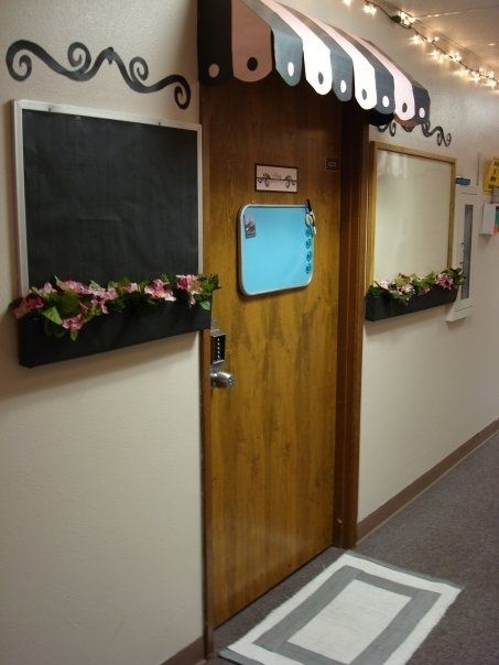 It would be cool to have a nice entry, and white boards for people to leave us messages !
