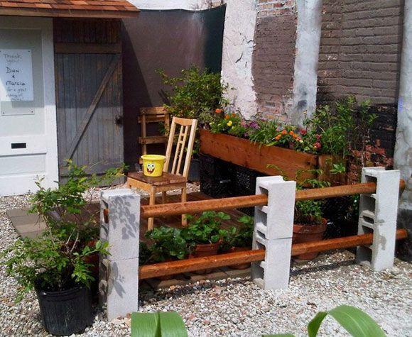49 mejores im genes de muebles de bloques de cemento en - Ladrillos de hormigon ...