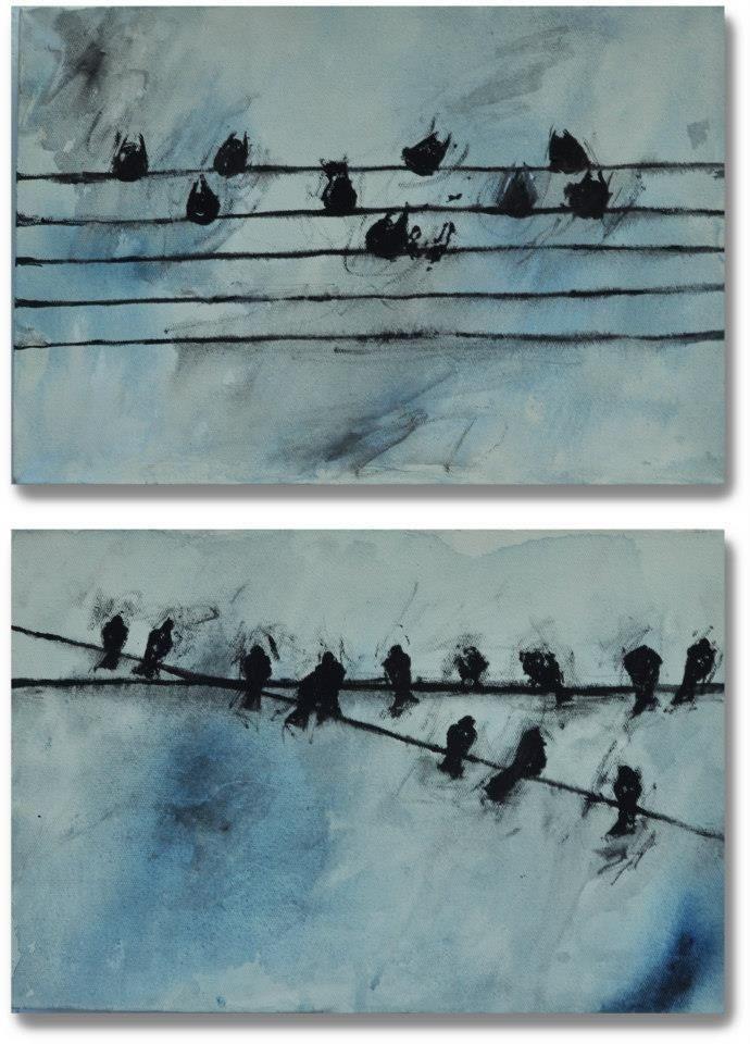 #akrilik #kuşserisi