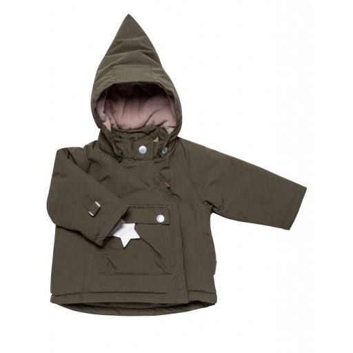 Mini a Ture - Winterjacke Baby Wang, olive night
