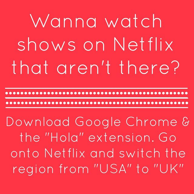 How to watch more shows on Netflix for FREE. i love this!!