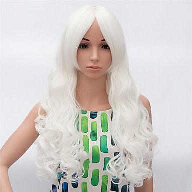 svart peruk Peruker för kvinnor Vit kostym peruker cosplay peruker 5276199 2016 – Kr.162