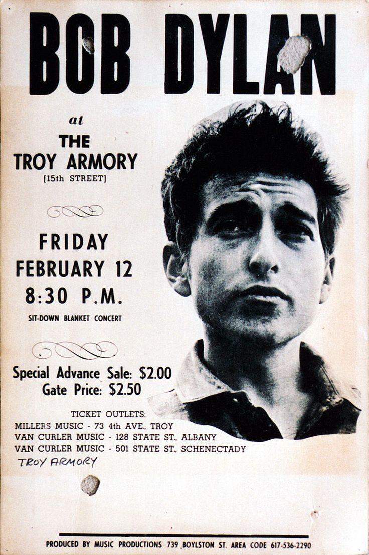 02 12 1965 - Bob Dylan Concert Poster