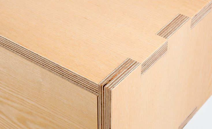 Plywood finger jointing...