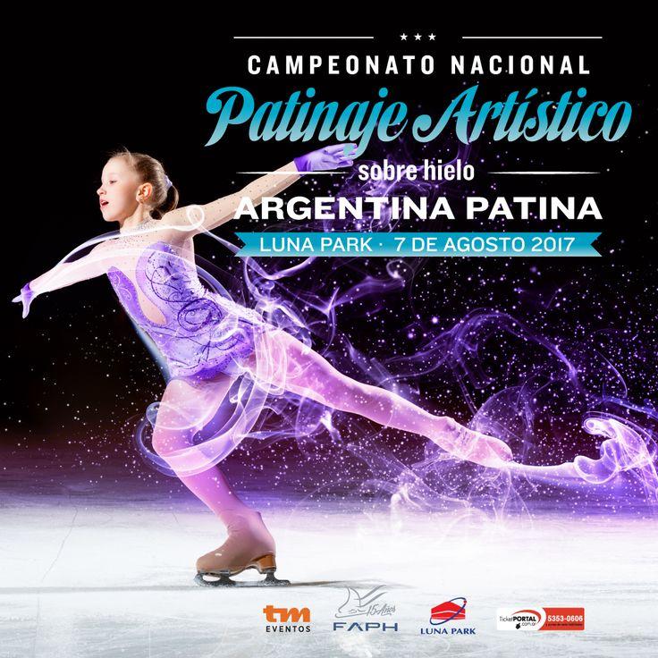 ARGENTINA PATINA SOBRE HIELO 7 de agosto en el Luna Park. ¡Entradas a la venta!