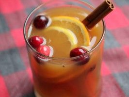 Slow Cooker Wassail : Recipes : Cooking Channel ... thinking of adding Southern Comfort