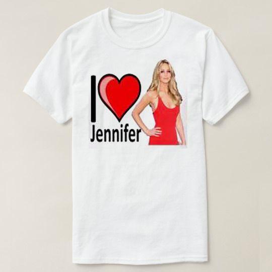 I Love Jennifer Lawrence Custom Shirts