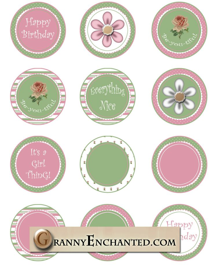 Free Printable Cup Cake Toppers Of Cat Boy