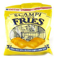 Hmmm....... Smith's scampi fries are the best money can buy. #legalrider #crisps