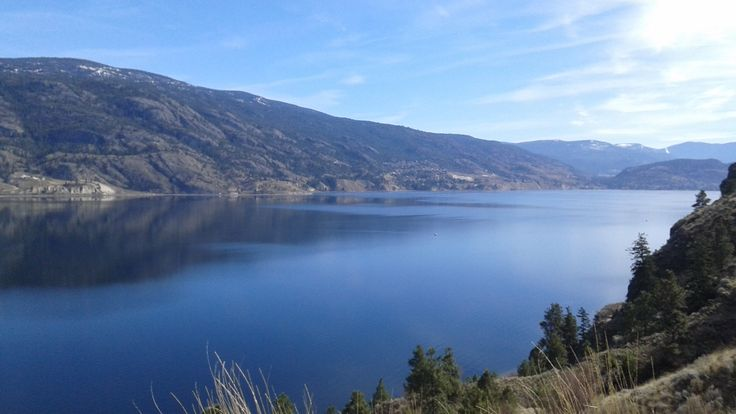 Okanagan Lake, British Columbia, Canada
