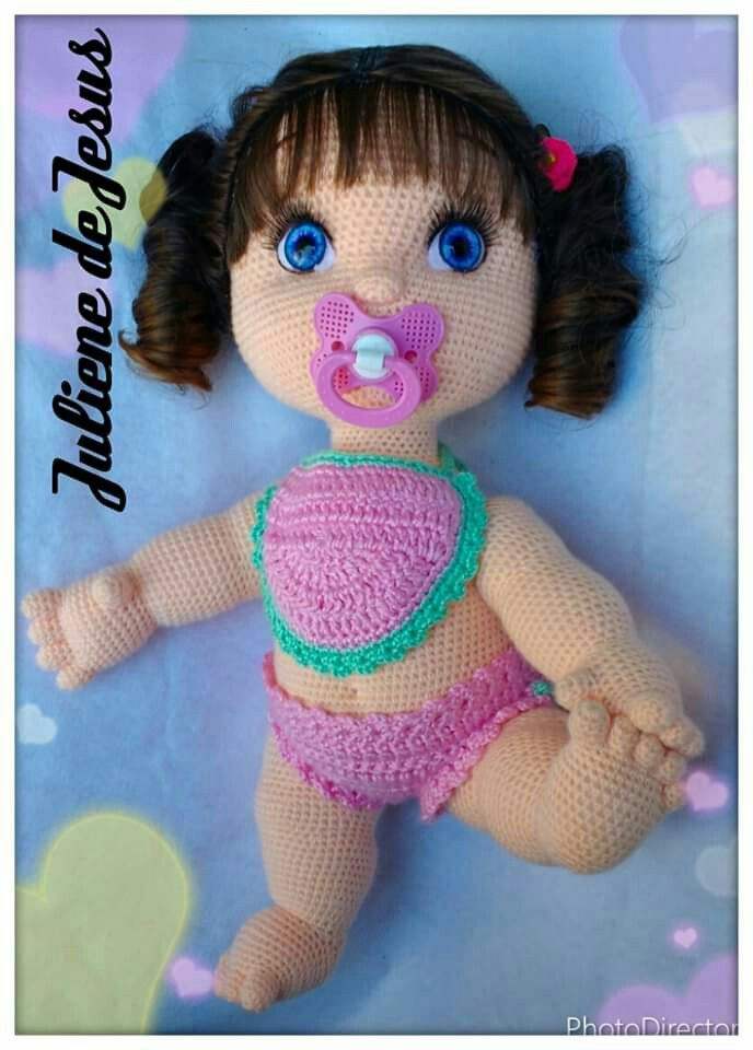 Pin By Fabiola Isuhuaylas On Meus Amigurumis Crochet Toys Knitted Dolls Crochet Baby
