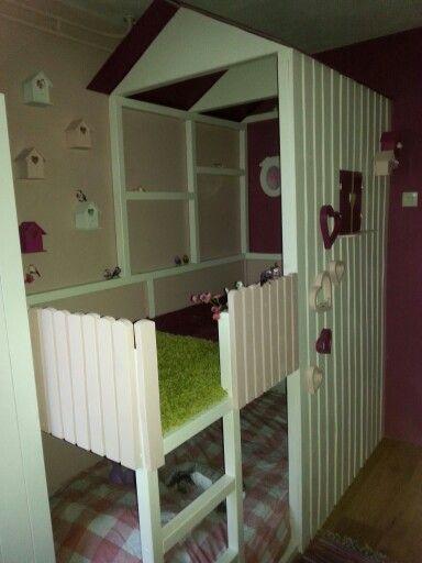 ... Ideeen kinder slaapkamer op Pinterest  Hoogslapers, Ikea hacks en