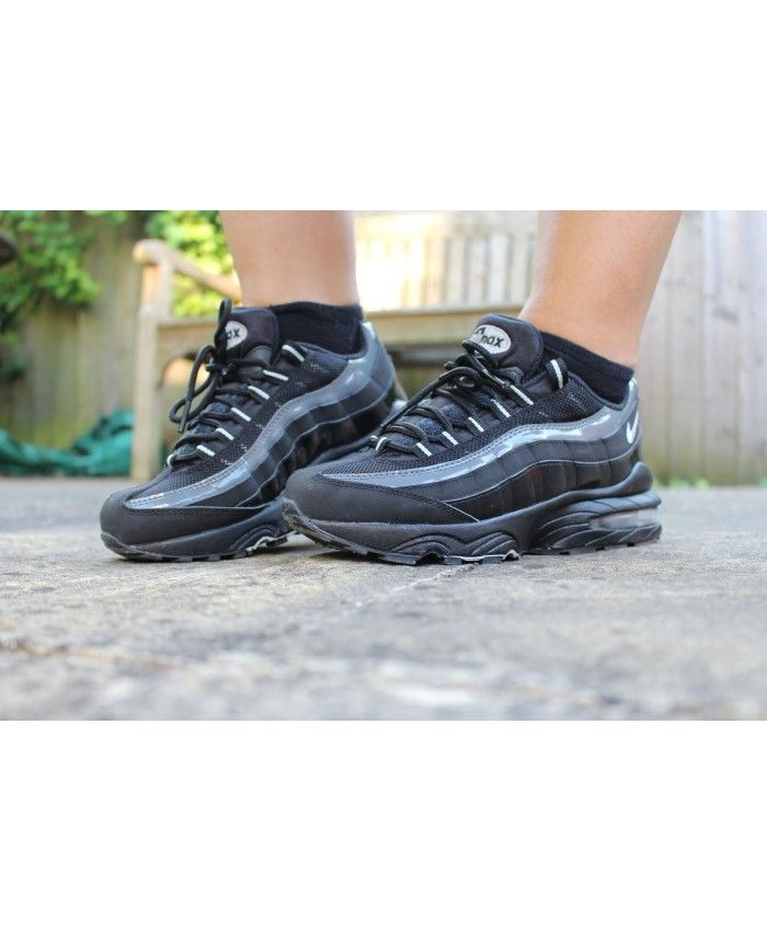 promo code dbee3 6d3ef Nike Air Max 95 Junior Grey Trainers | air max 95 junior ...