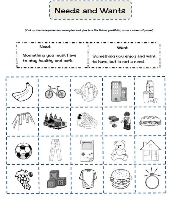 Needs And Wants Social Studies Worksheets 3rd Grade Social Studies Kindergarten Social Studies