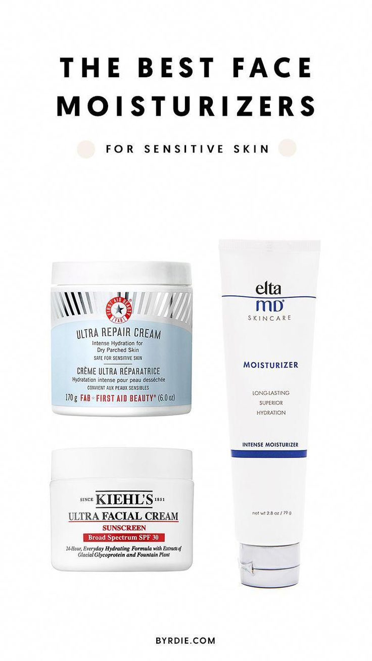 The Best Face Moisturizers for Sensitive Skin