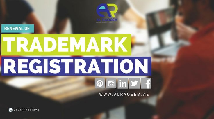A trade mark registration can be renewed every 10 years. To maintain your registration you need to renew the trade mark by the due date. Please feel free to contact us if you need any further information. 📞📱Whatsapp/call: +971507972020 📧 email: kaycee@alraqeem.ae 🌏 www.alraqeem.ae #trademark #worldwide #register #dubai #uae #business #lawyer #government #license #alraqeem #intellectualproperty #intellectual #law #rights #identiy #brand #name #symbols #devices #signatures #labels #owners…