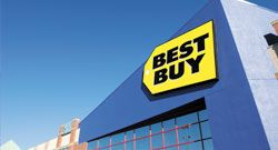 Best Buy - RewardZone  Shop and get points    Get 1 point for every dollar you spend¹ on purchases at Best Buy® and BestBuy.com®.